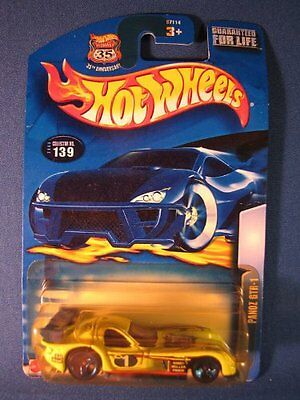 NEW Hot Wheels 2003-139 Panoz GTR-1 Lime Green Highway 35 1:64 Scale