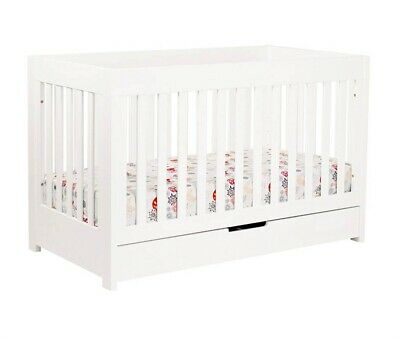babyletto Mercer 3-in-1 Convertible Crib in White - M6801W