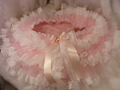 PINK SATIN~ FRONT+ BACK EXTRA FRILLY SISSY ADULT BABY PANTIES,KNICKERS,ALL SIZES