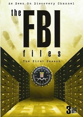 The FBI Files - First Season - As Seen on Discovery Channel *New DVD*