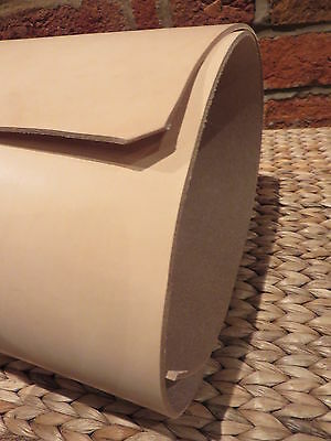 """3.6/3.8 mm THICK TOOLING  NATURAL  VEG TAN LEATHER  12""""x 12"""""""