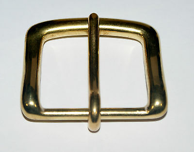 SOLID BRASS HEAVY WEST END BELT BUCKLE FOR 40mm STRAP