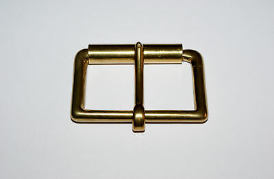 "SOLID CAST BRASS 2"" (50mm) SINGLE ROLLER BUCKLE"