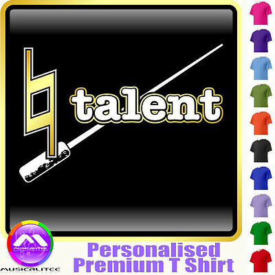 Conductor Natural Talent - Personalised Music T Shirt 5yrs - 6XL by MusicaliTee