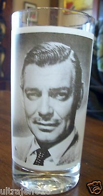 IT HAPPENED ONE NIGHT CLARK GABLE DRINK GLASS