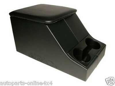 Land Rover Defender Cubby Box Centre Storage Black Xs Style & Cup Holder -Da2035