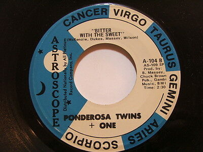 Ponderosa Twins + One - Bitter With The Sweet / Why Do Fools Fall In Love