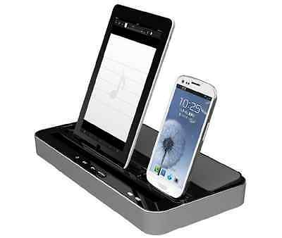 New Dual Charger Docking Station Speaker For iPhone 6 5 5S 5C iPad Air iPad Yun