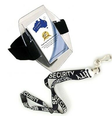 Security Lanyard & Arm Band - 2018 Release