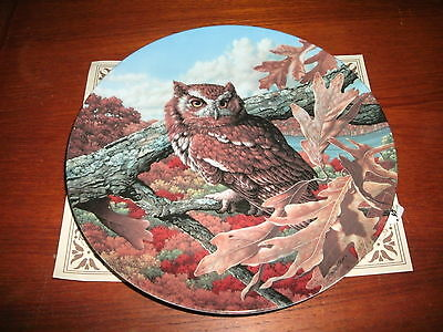 'The Eastern Screech Owl' Stately Owls Collection Limited Edition W/ Certificate