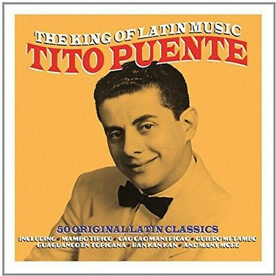 Tito Puente - King Of Latin Music [CD New]