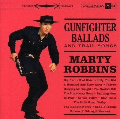 Marty Robbins - Gunfighter Ballads and Trail Songs [New CD] Expanded Version