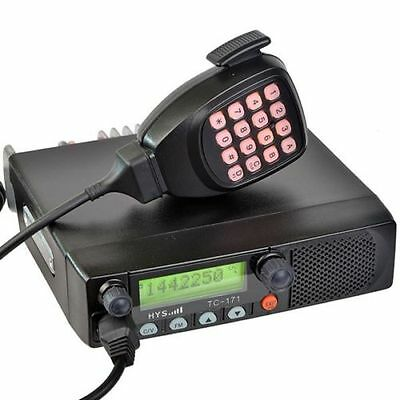 128 Channels 50 Watt 2 Meter Transceiver+DTMF Microphone and USB Cable