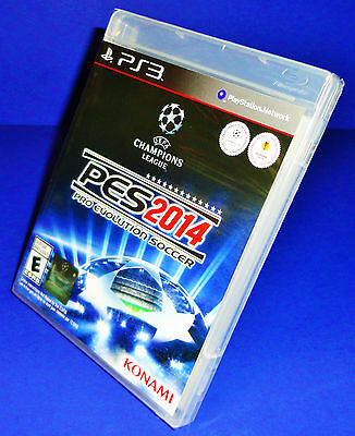 Pro Evolution Soccer 2014 (PS3) BRAND NEW FACTORY SEALED! Buy 1 Get 1 20% OFF!