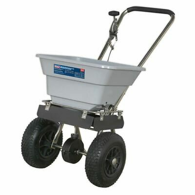 Sealey SSB37W Stainless Steel Broadcast Spreader 37kg Walk Behind