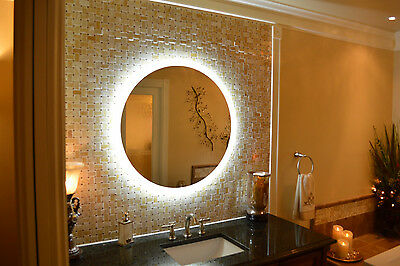Mam87236 72w x 36t lighted vanity mirror wall mounted led mam2d36 36 round side lighted vanity mirror wall mounted led makeup mirror aloadofball Images