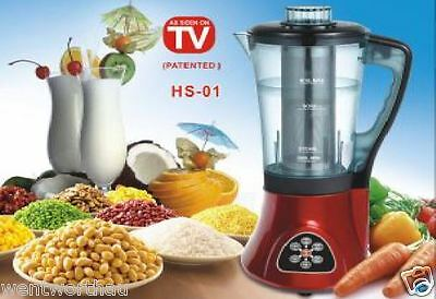 BIRTHDAY Gift IDEA AS SEEN ON TV HOT COLD SOUP MAKER PRO FOOD BLENDER COOKER