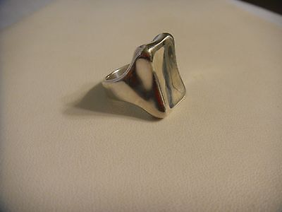 Vintage Sterling Silver Robert Lee Morris Ring Size 8