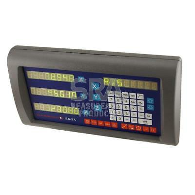 Easson 8A-3X 3 Axis Digital Readout Display Console M-DRO Incremental Counter