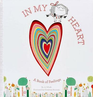 In My Heart: A Book of Feelings by Jo Witek (English) Hardcover Book Free Shippi