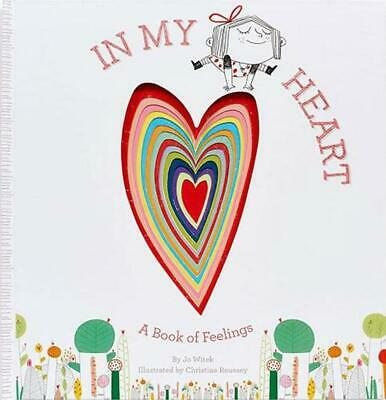 In My Heart by Jo Witek Hardcover Book (English)