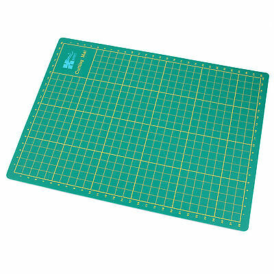 A4 Cutting Mat Printed Grid Lines Paper Board Crafts Models Self Healing +Buckle