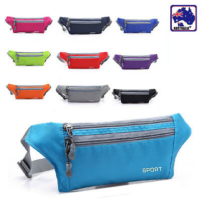 Waist Fanny Pack Bumbag Hip Bag Adjustable Belt Casual Sport Fashion CSBAG73