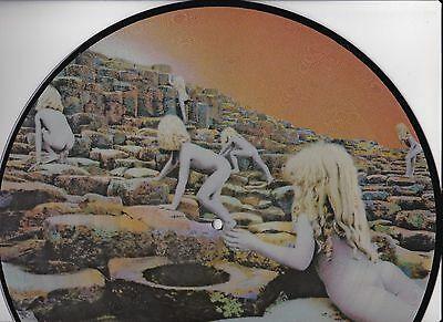 LED ZEPPELIN HOUSES OF THE HOLY LP PICTURE DISC UK IMPORT