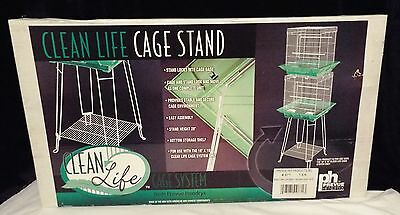 Prevue Hendryx Clean Life Bird Cage Stand Black - 871** FREE SHIPPING!