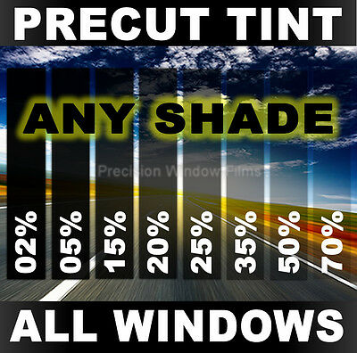 Auto Tint Kit for Nissan Frontier Crew Cab 00-04 PreCut Window Film Any Shade