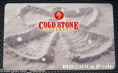 "COLD STONE CREAMERY ""Snow Angels"" COLLECTIBLE GIFT CARD NO VALUE NEW ""Ice Cream"""