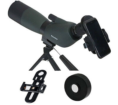 Cell Phone Universal Adapter Connect Mobile to 47mm Eyepiece Telescope&Scope