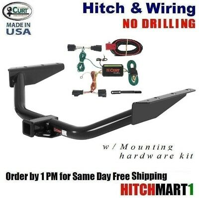 20112017 DODGE GRAND Caravan Trailer Hitch W Wiring Kit Class 3