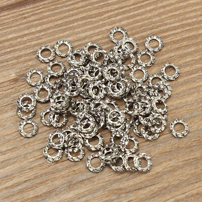 A2 Stainless Steel 100pcs M3-M8 Shakeproof External Tooth Serrated Lock Washers