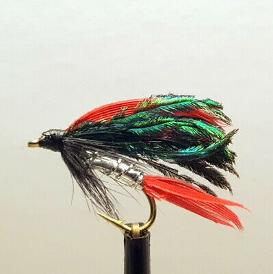 12,14 available 3 x ALEXANDRA WET TROUT FLIES sizes 8 10