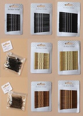 Packs Of 6 Cards Of Kirby Grips / Hair Pins / Bobby Pins, Hair Accessory, Dance