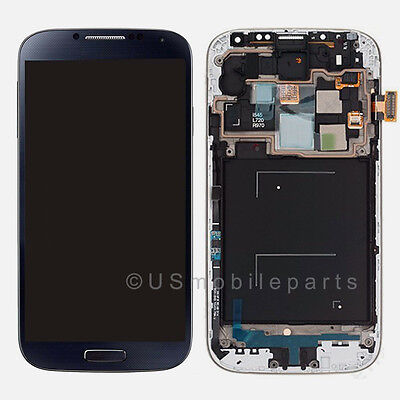 Samsung Galaxy S4 IV i545 L720 R970 LCD Touch Digitizer Screen + Frame Assembly