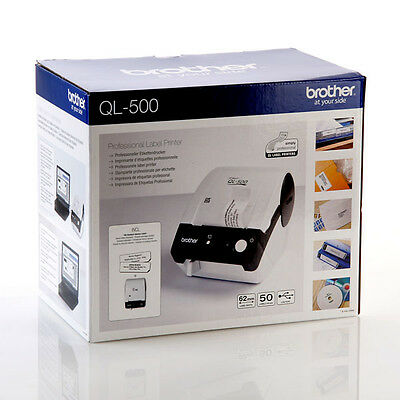 Brother P-Touch QL-500 Label Thermal Printer Address Envelope CD Stickers QL500