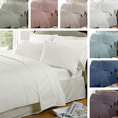 Highams Luxury 100% Egyptian Cotton 230 Thread Count Duvet Quilt Cover Bedding