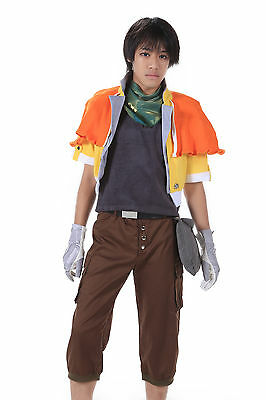 Final Fantasy XIII Cosplay Costume Hope Estheim Outfit 1st Ver Set