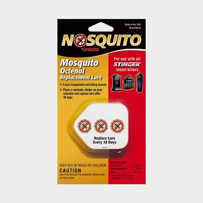 #NS16 Stinger *OCTENOL* Mosquito Nosquito Attractant Lures Flies Flying Insects!