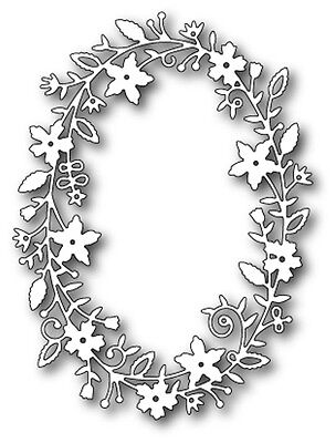 Memory Box Craft Die Fairytale Flower Frame 99067