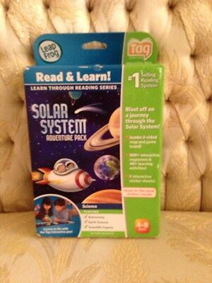 New LeapFrog Solar System Adventure Pack works with Tag Reading System 21215