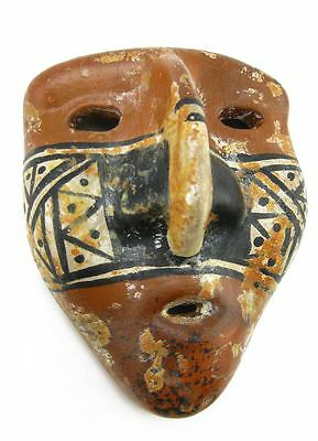 ACROSS THE PUDDLE Pre-Columbian Tolima Anthropomorphic Mask (S) Reproduction