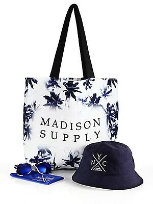 Exclusive Madison Supply Beach Bag, Bucket Hat and Sunglasses