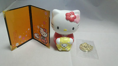 Japan Sanrio Hello Kitty Original Kimono Sheep small Figure New