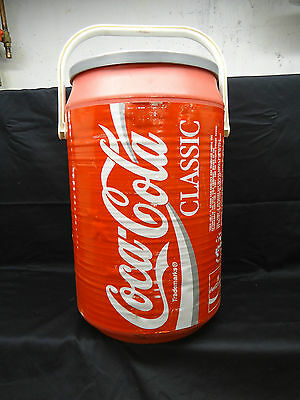 Coca-Cola Round Insulted Beverage 40 Can Replica Cooler (RD8392)