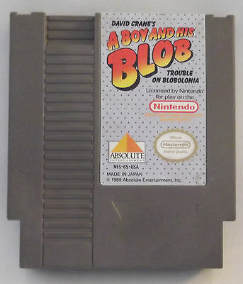A Boy and His Blob: Trouble on Blobolonia  (Nintendo, 1