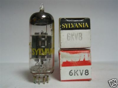 6Kv8 Tube. Mixed Brand Tube. Nos/nib. Rc55 / B151