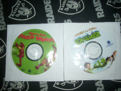SON OF THE MASK& HOW TO EAT FRIED WORMS 2.99 FREE SHIPPING !AWESOME!